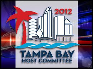 Tampa host Committee 2012 logo